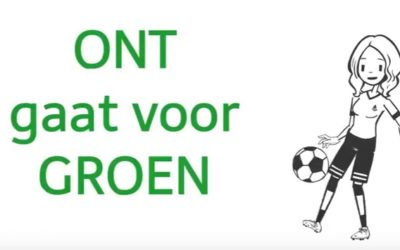 Voetbalvereniging ONT gaat voor groen!